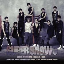 K-POP Super Junior The 3rd Asia Tour Concert Album Super Show #3 2CD(SJU03L)