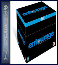 ENTOURAGE - COMPLETE SEASONS 1 2 3 4 5 6 7 & 8 BOXSET *BLU-RAY REGION FREE*