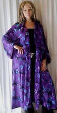 purple jacket duster casade ruffle -M L XL 1X 2X zq394