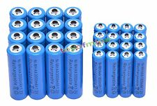 16x AA 3000mAh + 16x AAA 1800mAh 1.2V NI-MH Rechargeable Battery 2A 3A Blue Cell