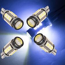 4pcs Extreme Bright 7W Xenon White 921 T15 912 LED Backup Reverse  Light Bulb HS
