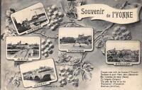 CPA 89 SOUVENIR DE L'YONNE