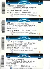 Ticket - Chelsea CFR Cluj 1907 CL 2008/09