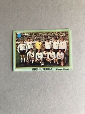 FIGURINA CALCIATORI MIRA 1968/69 - Nuova  - COPPA RIMET - Team England