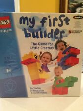 "NEW LEGO Explore ""My First Builder"" game for little creators by RoseArt 2002"