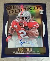 🔥  2020 PANINI LEGACY SAPPHIRE PRIZM RC ROOKIE CHASE YOUNG AUTO /25