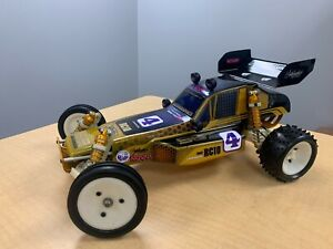 Vintage Team Associated RC10 Gold Tub A Stamp w/ Original ULTRAHIVE painted body