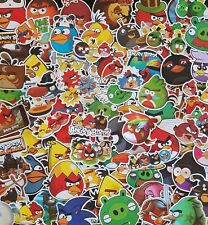 Angry Birds Stickers Gamer Gift Movie PC Car School Decal Vinyl Party Loot Lolly
