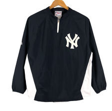 Authentic Majestic New York Yankees 1/4 Zip Pullover    Size: L