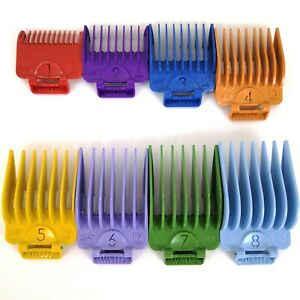 Wahl Combs Clipper Guides Guards Set Original Made USA