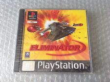 Eliminator Ps1 Play Station Playstation 1  Psx# Factory Sealed Sigillato