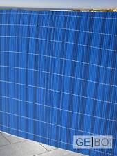 PVC Balkonblende Sichtschutz 0,9 x 3 m Balkon Sichtschutz Balkonverkleidung Blau