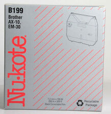NEW B199 NU-KOTE Correctable Film Ribbon for Brother AX-10, EM-30