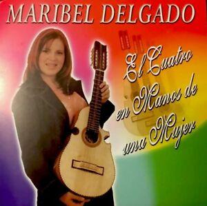"""Maribel Delgado """"El Cuatro en Manos de una Mujer"""" CD Cuatro PR 2003 NEW!"""
