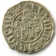 Levon 1 (1198-1218),Silver Tram,Cilicia Armenian King.Armenia,Cross/Lion,A rmenie