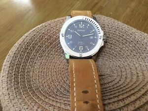 PARNIS Japan 21Jewels MIYOTA 821A Movement Automatic watch with date.