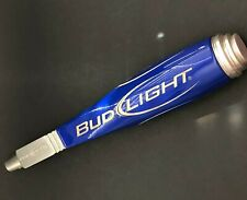 Budweiser Bud Light Beer Tap Handle Knob Blue Silver