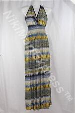 New Fashion Women V Neck Smocked Waist Maxi Long Summer/Beach Dress/Sun Dress