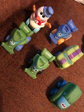 Lot of 5 Tonka Chuck & Friends Preschool Toy Trucks 2005-2009 Hasbro Plus A Snow