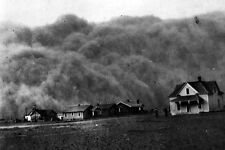 New 5x7 Photo: The Dust Bowl - Dust Storm at Homestead in Stratford, Texas