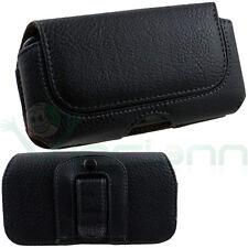 Custodia cover Clip Cintura NERA case per Samsung Galaxy S4 mini i9195 CT5