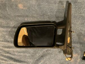 1988 - 1994 Classic Saab 900 Convertible Left Side Heated Rear View Mirror