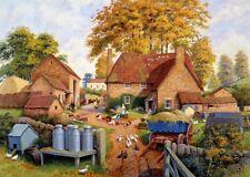 NEW! Falcon de luxe Autumn on the Farm by Finlay 1000 piece country jigsaw