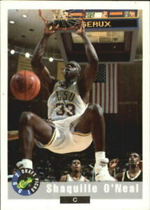 1992 Classic Basketball #1 Shaquille O'Neal LSU Tigers