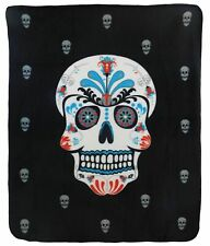 Sugar Skull Dead of the Dead Blanket Sugar Skull Blanket Skulls New Super Soft