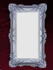 Espejos decorativos rectangulares plateado para el dormitorio