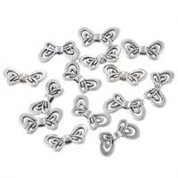 L/P 150 Antiksilber Metallperlen Beads Spacer Charms Schmetterling 17.5x9mm