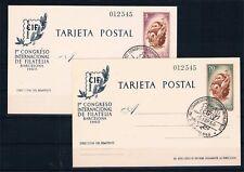 España. Enteros Postales CIF. Edifil 88/89