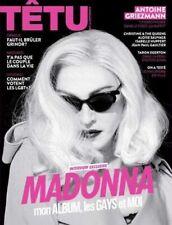 MADONNA Tetu FRANCE Magazine NEW 5/2019 GAY INTEREST MADAME X
