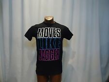 MOVES LIKE JAGGER black small t-shirt, Maroon 5 song, American pop/rock band
