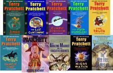 Terry Pratchett Hit Fantasy Series DISCWORLD Mixed PAPERBACK Set of Books 21-30