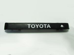 84-89 Toyota 4Runner Rear Tail Gate Deck Trim Molding Key Bracket Black
