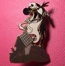 DISNEY PIN - Nightmare Before Xmas JACK SKELLINGTON and ZERO Grave Auctions LE
