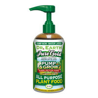 DR. EARTH PUMP & GROW PURE GOLD ALL PURPOSE PLANT FOOD 1-1-1, 8oz