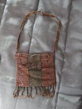 Antique beaded mesh purse bag 1920