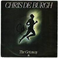 "CHRIS DE BURG   The Getaway - 7"" Single 1982 - Coverhülle SIGNIERT!"