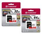 Transcend 32GB 64GB High Endurance Micro SD SDHC SDXC Class 10 MLC AU