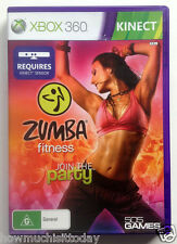 Xbox 360 Zumba Fitness Join the Party -NEW(SEALED)