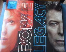 DAVID BOWIE LEGACY 20 TRACK DBL 180g AUDIOPHILE VINYL LPs SEALED MINT L@@K