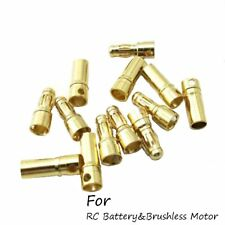 20 Pcs/lot3.5mm Gold Bullet Connector Plugs Male&Female For ESC Motor&RC Battery