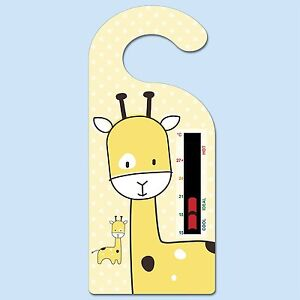 Giraffe Hanger Nursery Room Safety Temperature Thermometer