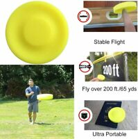 Pocket Flying Disc Mini Frisbee Flexible finger spin Catching Game Throwing Toys