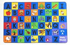 Little Charlie  4' x 6' children's educational and play area rug