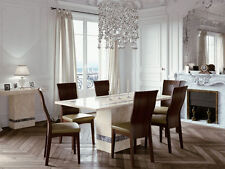 Marble Contemporary Dining Room Table & Chair Sets