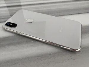 Apple iPhone X A1901 White Silver 256GB Factory Unlocked World Phone   Pristine