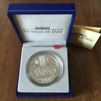 FRANCE - 10 FRANCS EN ARGENT COMMEMORATIVE (COFFRET BE 1999) RUGBY